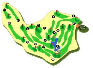 Mijas Golf Mapa Los Olivos
