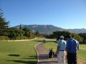 Mijas Golf Los Lagos -1st Tee - Hole 1