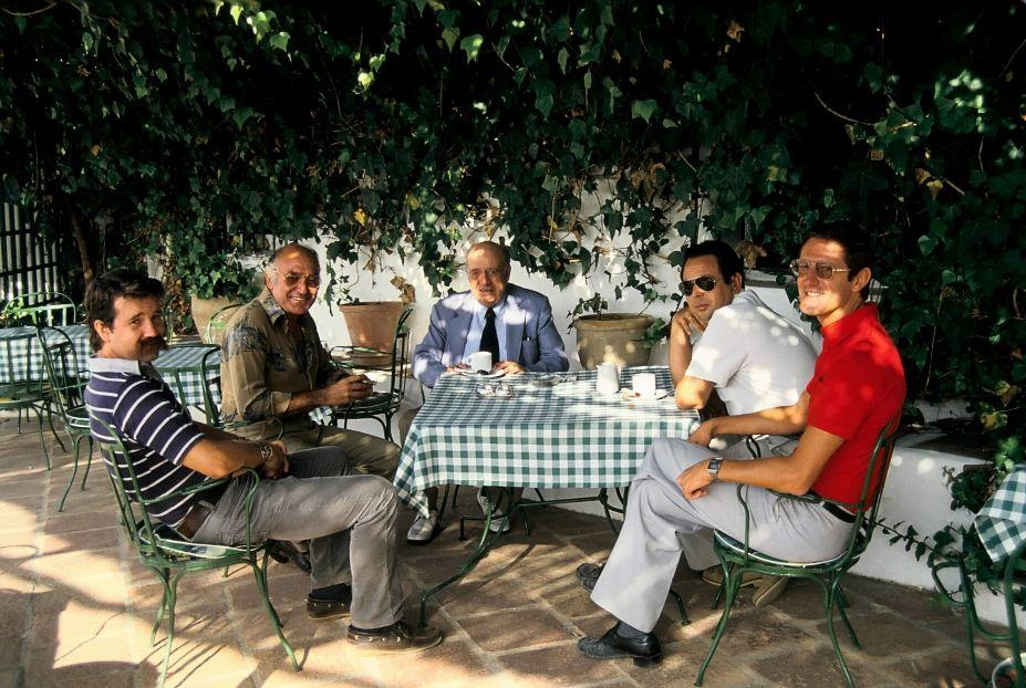 MIJAS GOLF ROBERT TRENT JONES, DON MATEO PÉREZ, CABELL ROBINSON, RAFAEL ROMERO Y JOHN PAYNE