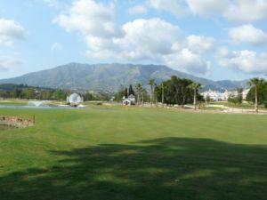 Mijas Golf Los Lagos Green Hoyo 13