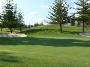 Mijas Golf Los Lagos Green Hoyo 14