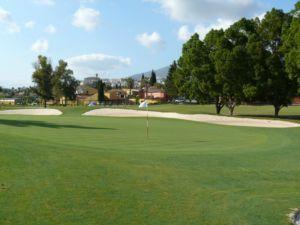 Mijas Golf Los Lagos Green Hoyo 15