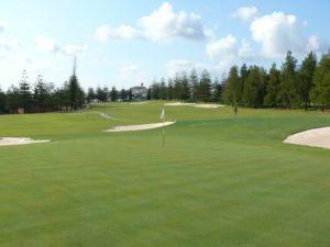 Mijas Golf Los Lagos Green Hoyo 17