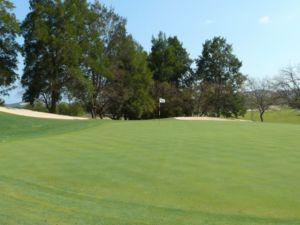 Mijas Golf Los Lagos Green Hoyo 2