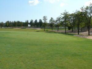 Mijas Golf Los Lagos Green Hoyo 3