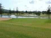 Mijas Golf Los Lagos Green Hoyo 4