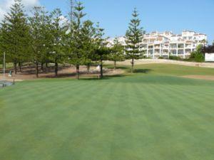 Mijas Golf Los Lagos Green Hoyo 6