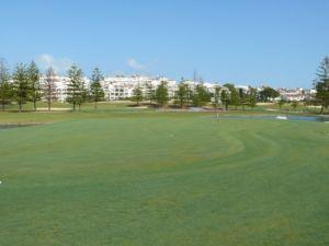 Mijas Golf Los Lagos Green Hoyo 8