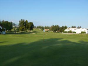 Mijas Golf Los Olivos Green Hoyo 10