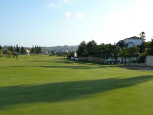 Mijas Golf Los Olivos Green Hoyo 12