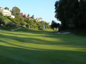 Mijas Golf Los Olivos Green Hoyo 13