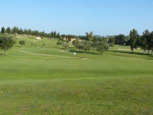 Mijas Golf Los Olivos Green Hoyo 2