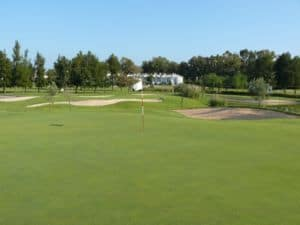 Mijas Golf Los Olivos Green Hoyo 3
