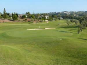 Mijas Golf Los Olivos Green Hoyo 4