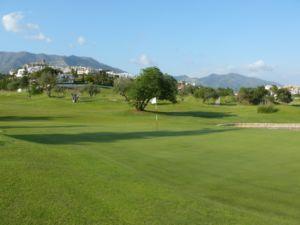 Mijas Golf Los Olivos Green Hoyo 6
