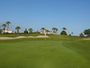 Mijas Golf Los Olivos Green Hoyo 9