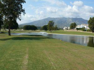 Mijas Golf Los Lagos Tee Hoyo 6
