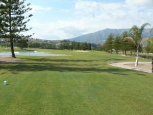 Mijas Golf Los Lagos Tee Hoyo 7