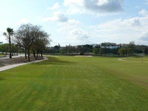 Mijas Golf Los Lagos Tee Hoyo 9