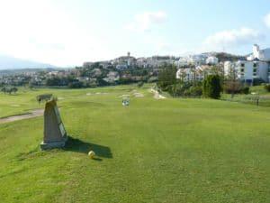 Mijas Golf Los Olivos Tee Hoyo 1