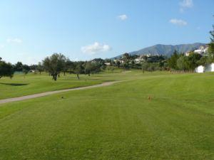 Mijas Golf Los Olivos Tee Hoyo 4